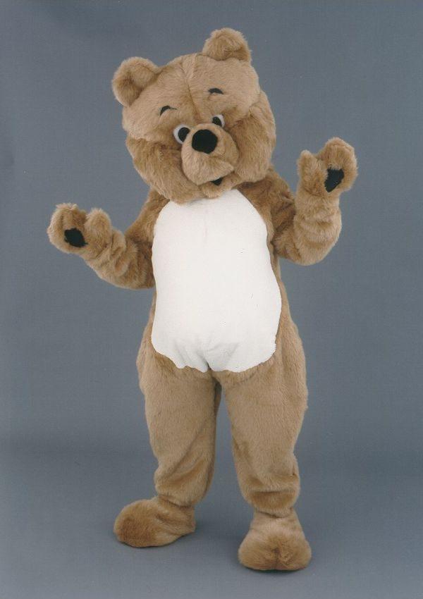 mascota urs brun