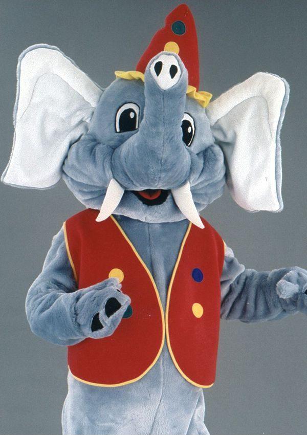 Mascota elefant circar