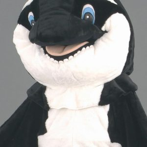 Mascota balena Orca