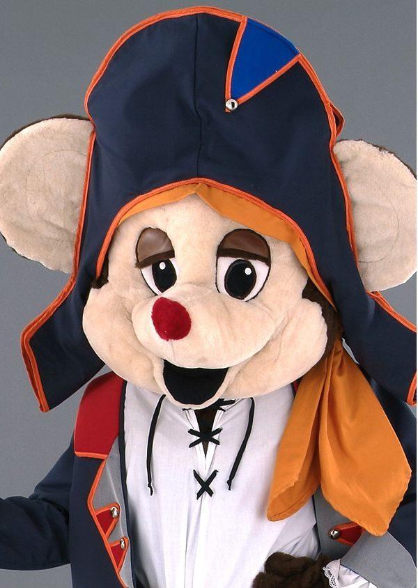 Mascota soricel pirat