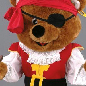 Mascota urs pirat