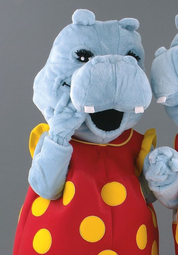 Mascota hipopotam