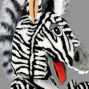 Mascota zebra