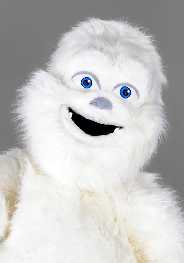 Mascota Yeti