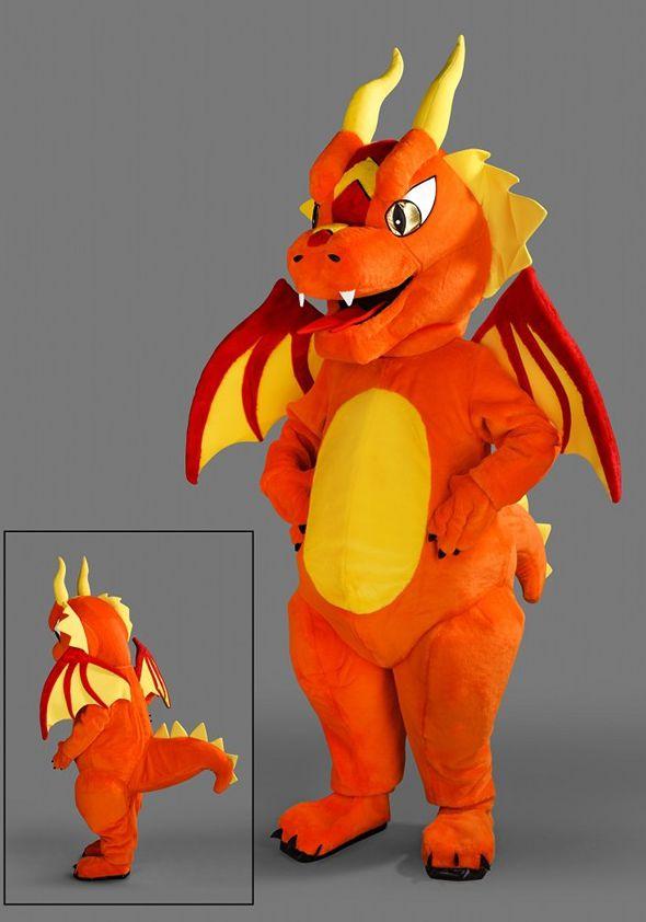 Mascota dragon