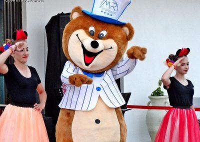 mascota urs personalizata
