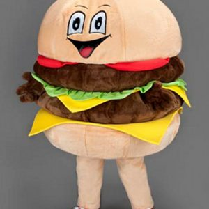 Mascota hamburger