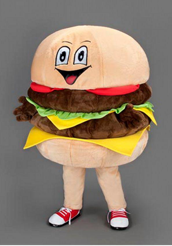 Mascota hamburger