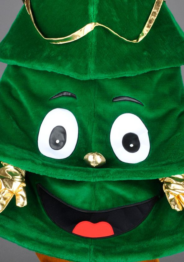 mascota brad de craciun