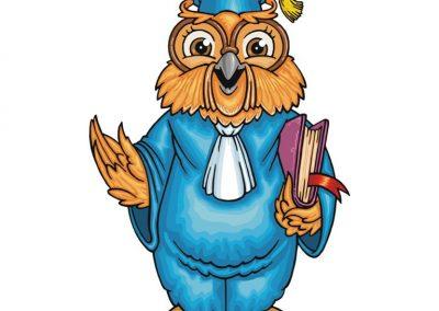 mascota personalizata UAIC Iasi