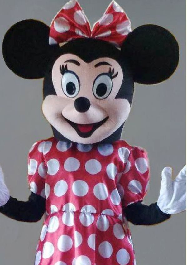 mascota Minnie mouse