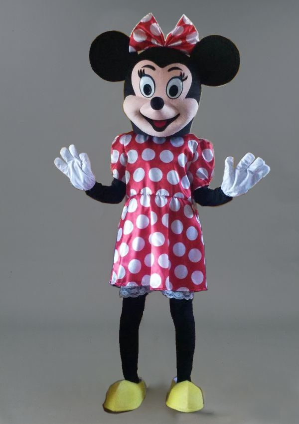 mascota Minnie mouse