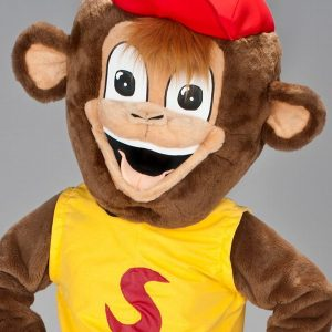 Mascota maimuta (cimpanzeu)