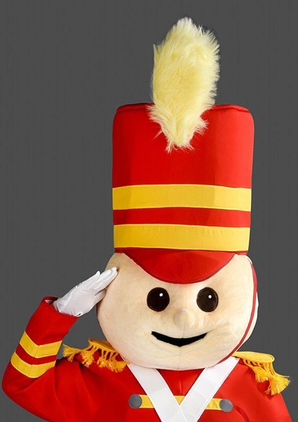 mascota Soldatel de plumb