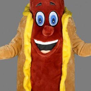 mascota hotdog